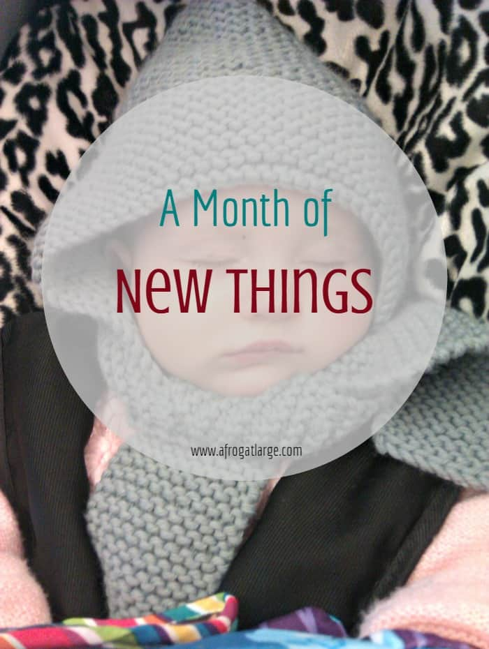 A week of new things