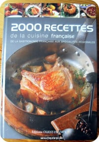 French cookbook 2000 recipes