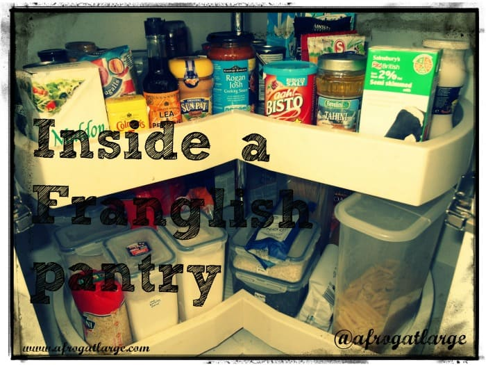 Inside a Franglish Pantry: dry pasta shapes
