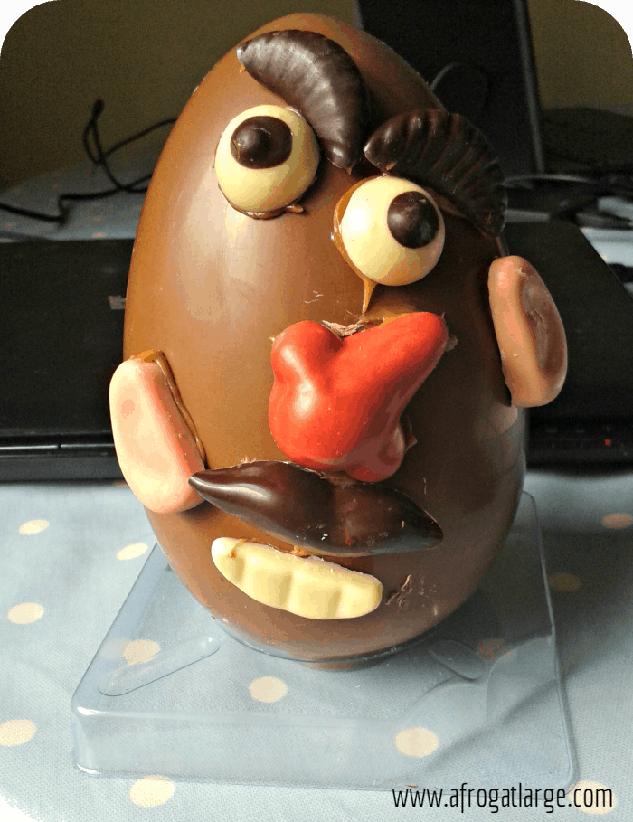 chocolate Mr Potato Egg