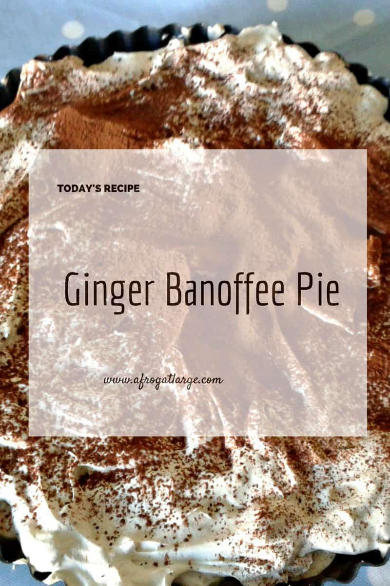 Ginger Banoffee Pie Recipe