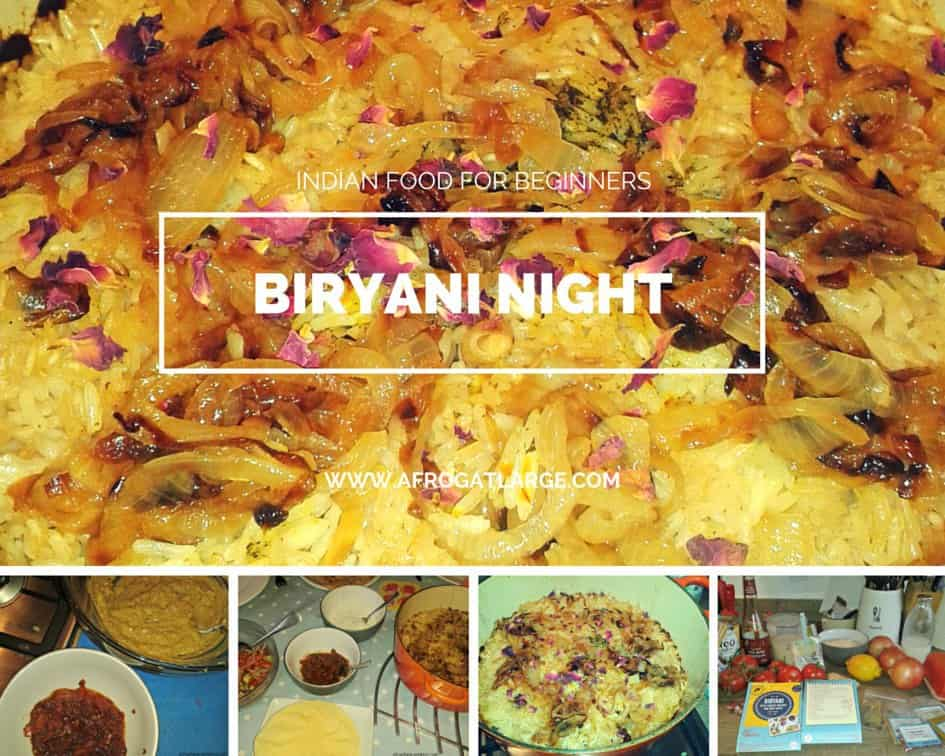 Indian food for beginners: the Biryani night